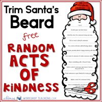 Random Acts Of Christmas Kindness Cards
