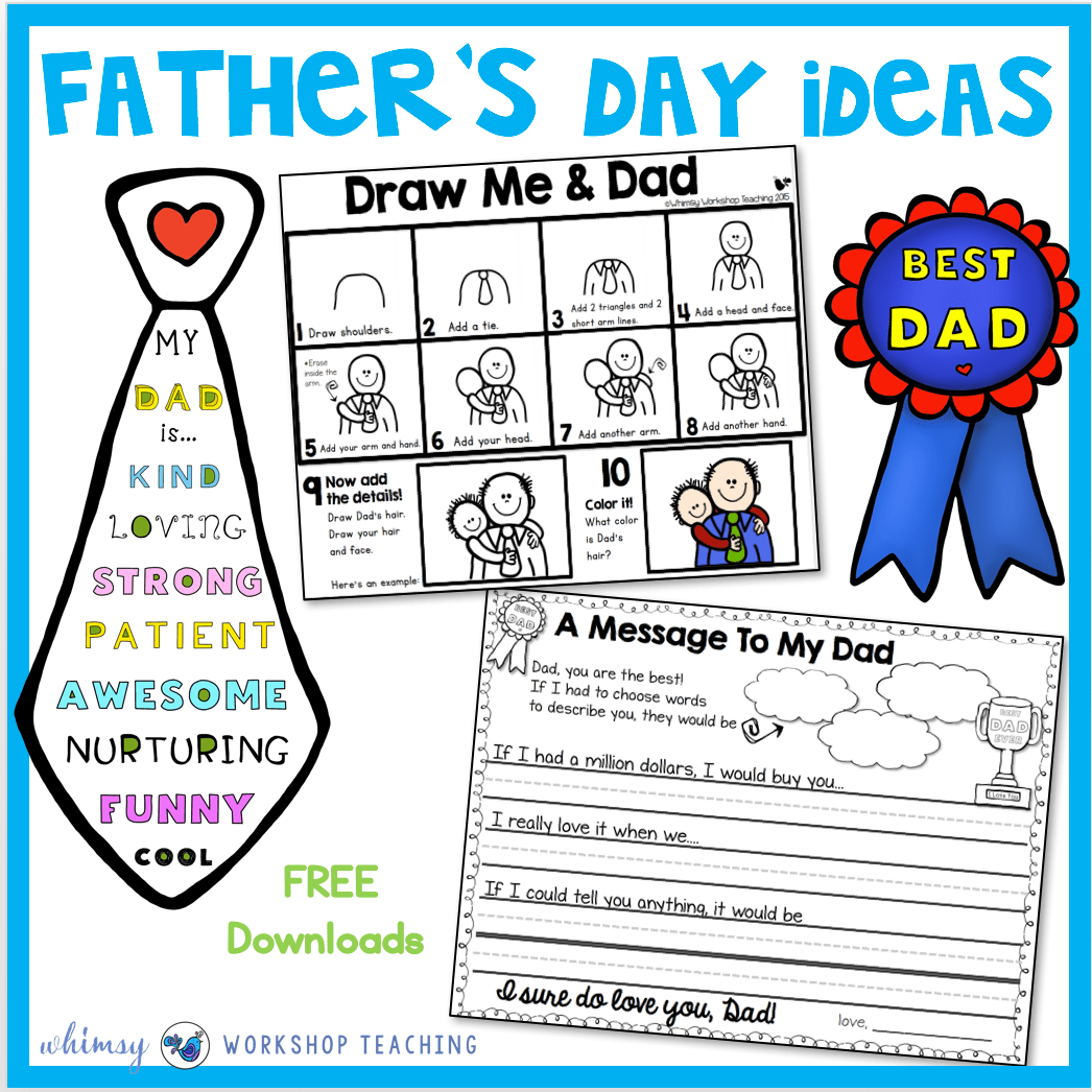 Father S Day Directed Drawing Ideas
