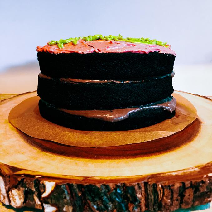 Harry Potter's Sticky Chocolate Birthday Cake