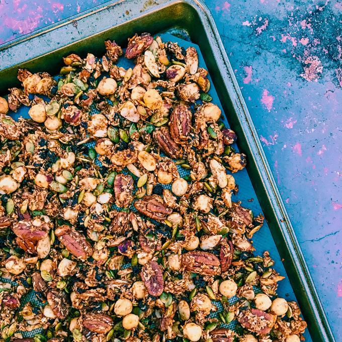 Grain-Free Pumpkin Spice Granola