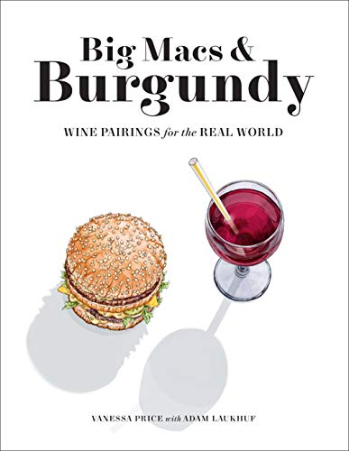 The front cover of the book Big Macs & Burgundy