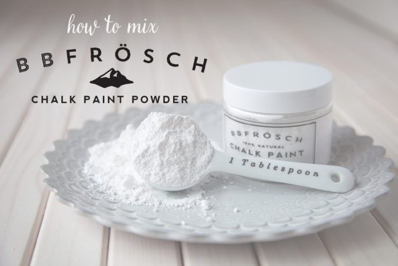how-to-mix-BB-Frösch-chalk-paint-powder