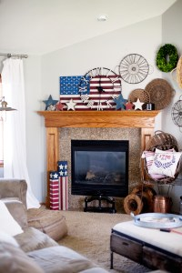 Quick Red White and Blue Home Decor  Whipperberry