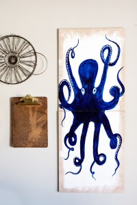 DIY Octopus Wall Art  Whipperberry