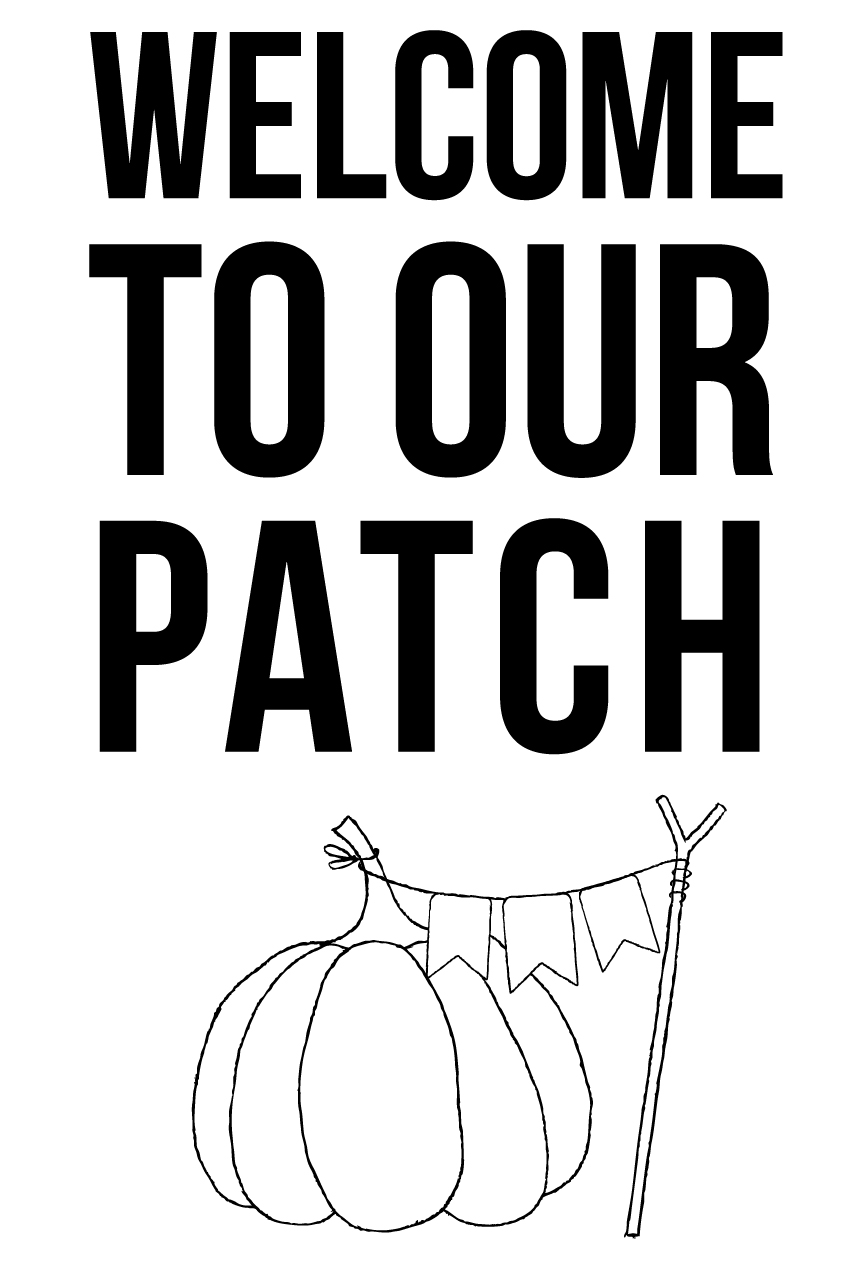 Welcome to Our Patch • Fall Porch Ideas • Whipperberry