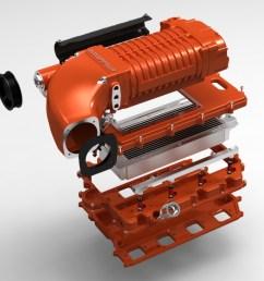 whipple hemi 6 1l supercharger kit [ 1024 x 768 Pixel ]