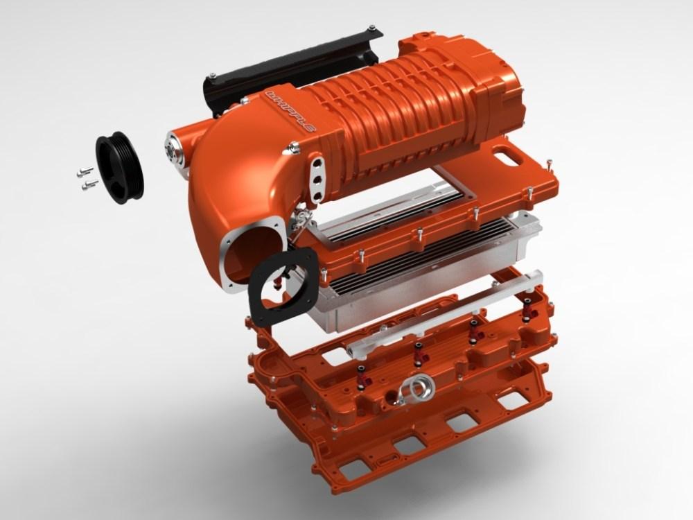 medium resolution of whipple hemi 6 1l supercharger kit