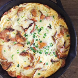Southwest-Style Sweet Potato Frittata
