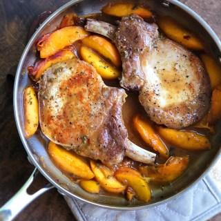 Peach-Glazed Pork Chops