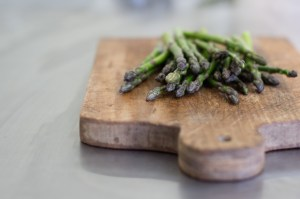 Avocado Asparagus Tartines