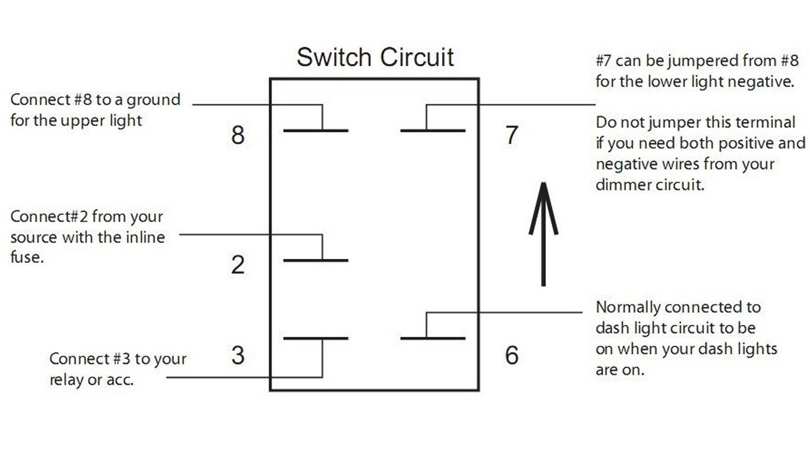 wiring diagram for light bar rocker switch ford trailer harness switches whiptech