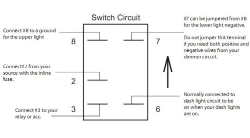 small resolution of 12 volt led bar wiring diagram images gallery rocker switches whiptech