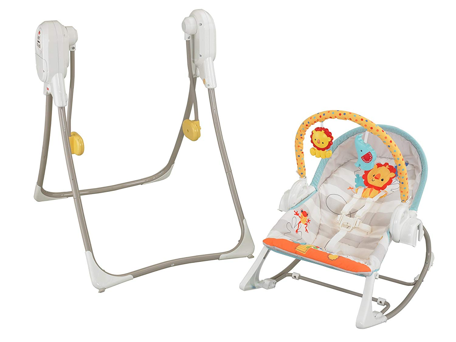 Fisher Price 3-in-1 Swing 'n Rocker | Toys for babies. toddlers. and kids | Whirli™ Toy Sharing Subscription Box | Whirli