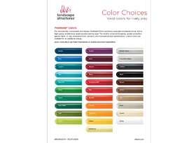 Color Choices Sell Sheet Image