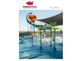 AquaFlex® Water Play Surfacing Image