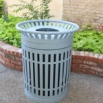 Trash & recyclable receptacles