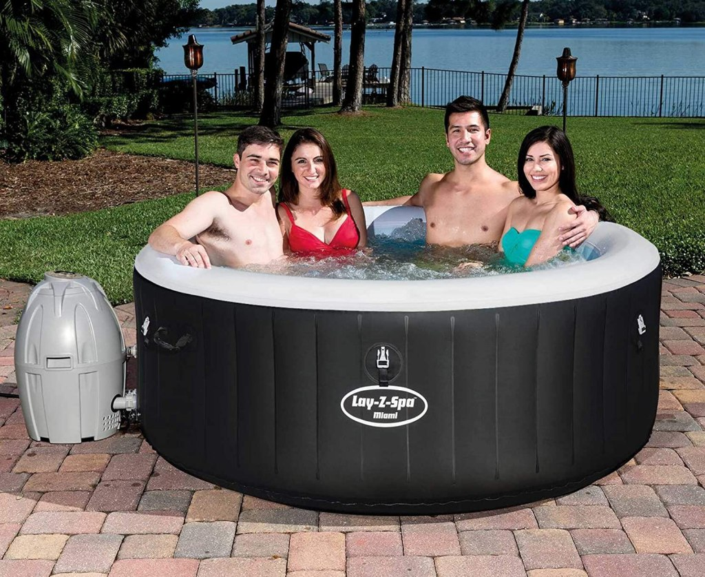 Whirlpool Miami Lay-Z-Spa  / Whirlpool 4 Personen