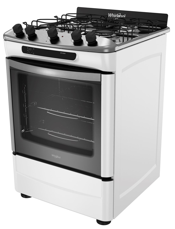 Cocina Complete  4 hornallas  60 cm  Blanco