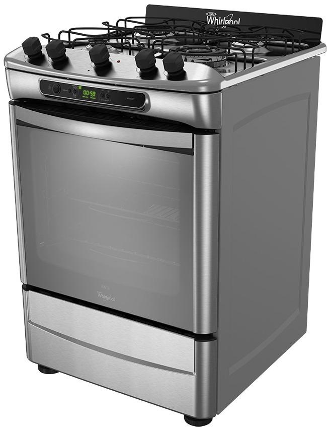 Cocina Whirlpool Wf560xt Plateado
