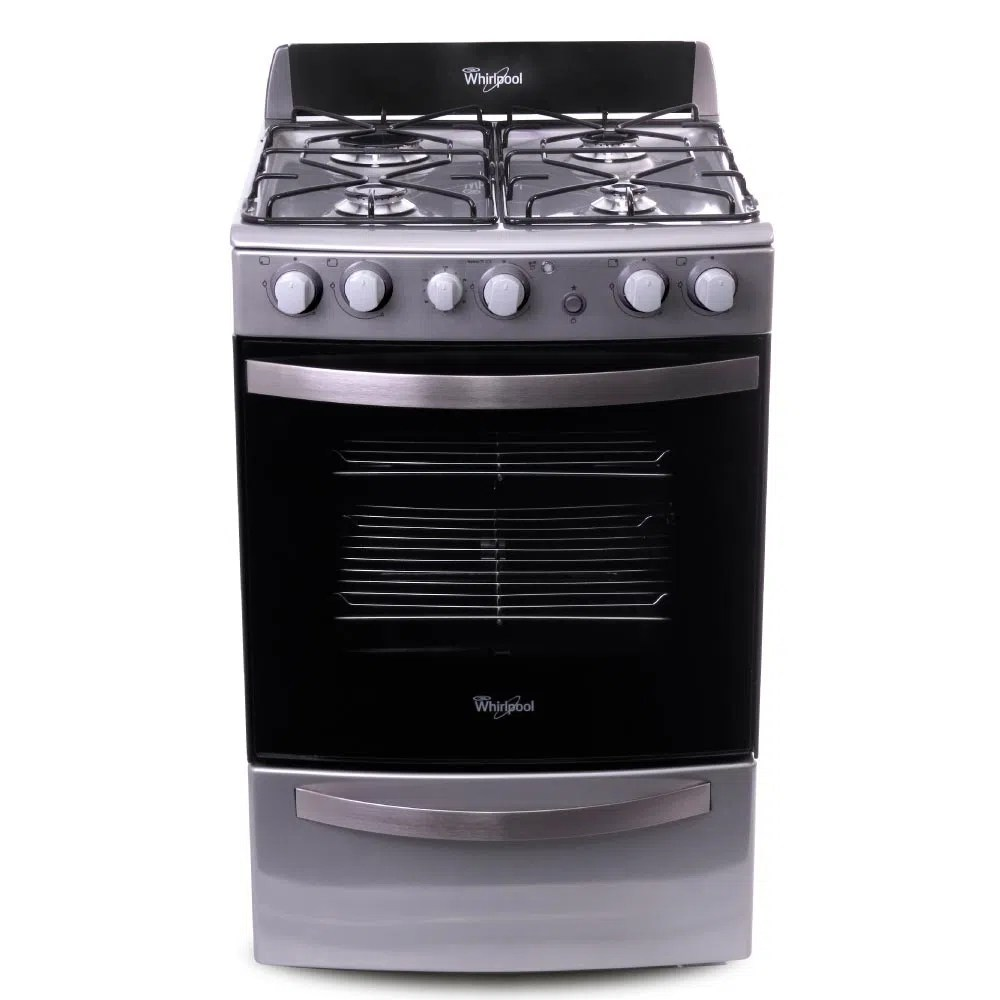 Cocina con Grill Inoxidable de 55 cm  Whirpool Argentina  whirlpoolarg
