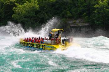 Whirlpool Jet Boat Tours Fully Guided Jet Boat Tour In Niagara Falls Canada And Usa
