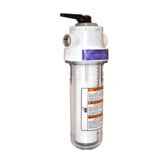 Photo of the WHKF-DWHV Whole House Filtration System
