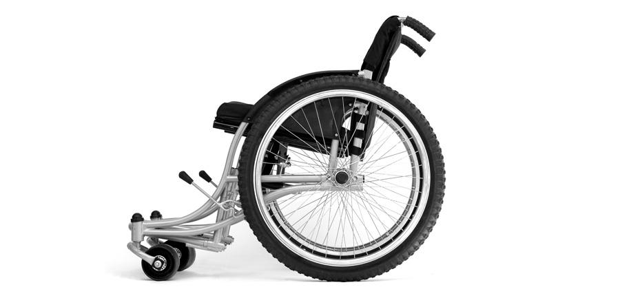 RoughRider Wheelchair — Whirlwind Wheelchair