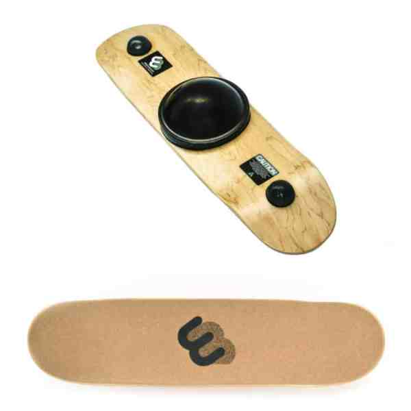classic cork rubber with inlaid logo