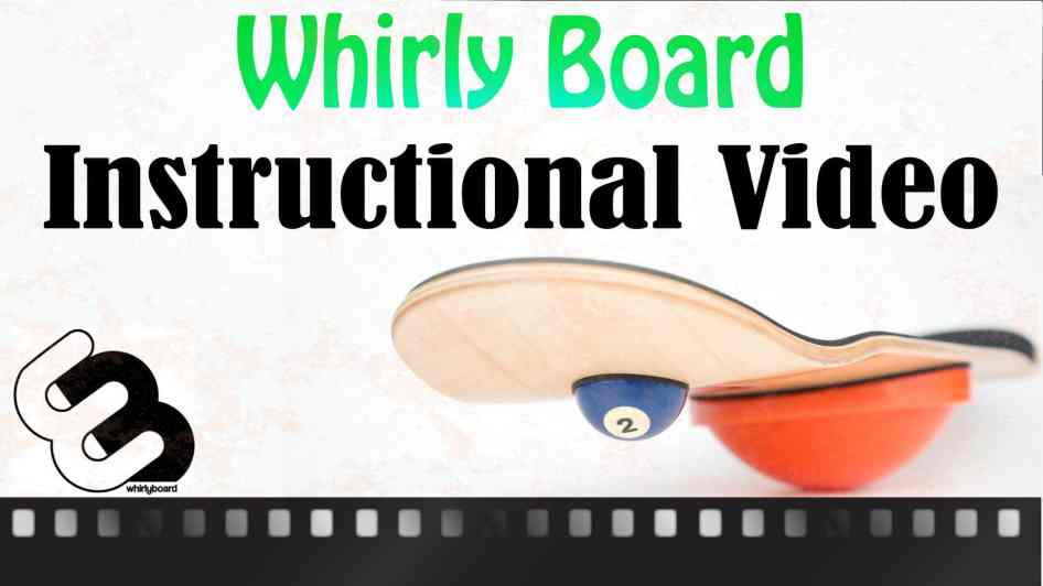 Whirly board instructional video cover