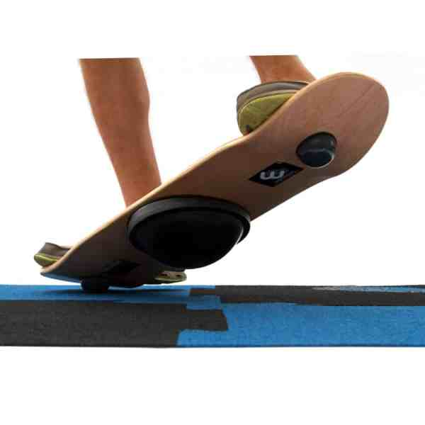 Whirly Board tail press or manual