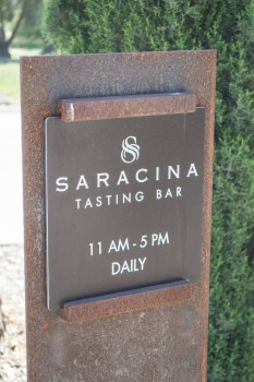 saracina tasting bar sign | whiskandmuddler.com