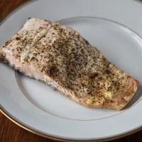 Simple Seasoned Salmon