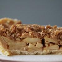 Crumble Top Apple Pie