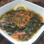 Lemon Lentil and Kale Soup Recipe