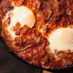 Simple Shakshuka with Bacon Recipe