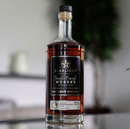 Starlight Distillery Indiana Straight Single Barrel Bourbon Review ...