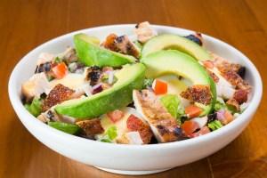 Avocado Chicken Salad Lunch