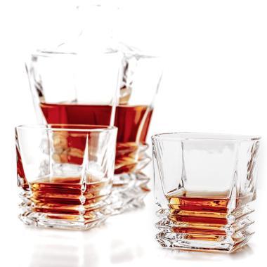 Whiskeykaraff Ewing med 6 glas
