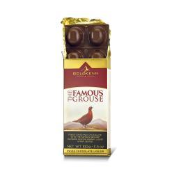 Chokladkaka fylld med Famous Grouse Whisky