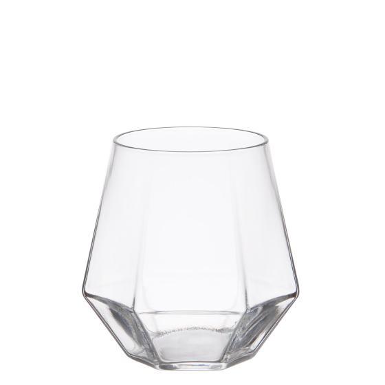 Diamond Shaped Glass