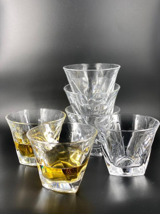 Whiskeykaraff Frank med 6 glas