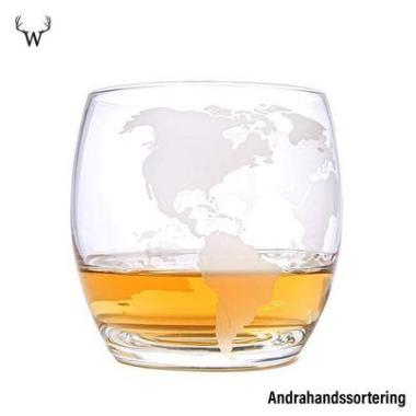 Globe Whiskeyglas - Andrahands sortering