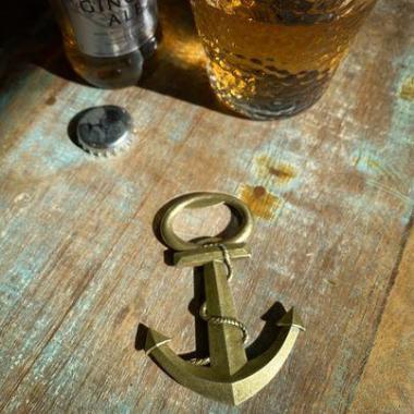 Ankare Kapsylöppnare - Barverktyg – Mässing