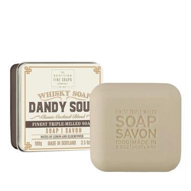 Dandy Sour - Handtvål i snygg plåtask