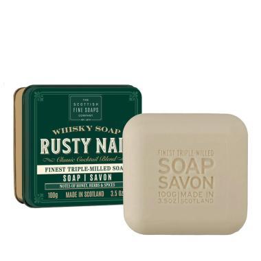 Rusty Nail - Handtvål i en snyggt plåtetui