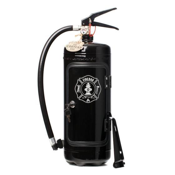 Portabel Minibar Brandsläckare - Firebar Black