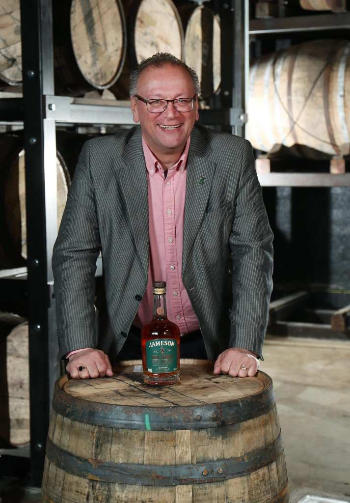Bolly Leighton Jameson Bow Street 18 Years Cask Strength Irish Whiskey