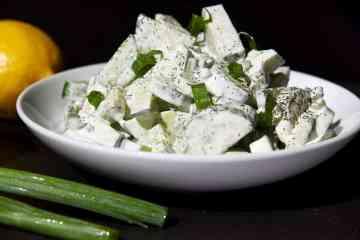 cucumbers salad