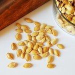 Roasted Salted Pumpkin Seeds