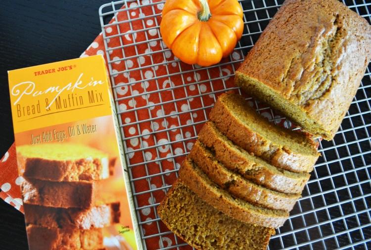 Trader Joe's Pumpkin Bread